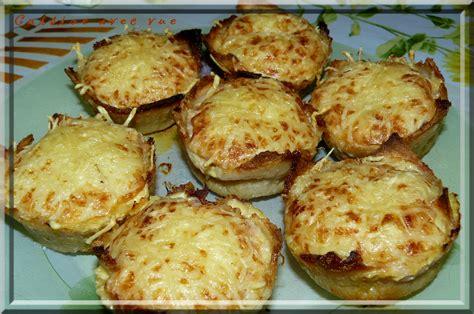 recette avec de cuisine corbeilles de de mie au jambon cuisine avec vue