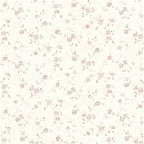 Delicate Flowers Shabby Chic Wallpaper The Shabby Chic Guru