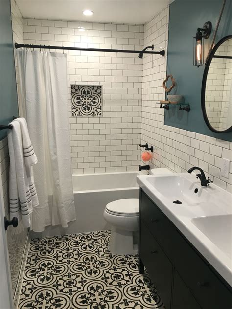 bathroom remodel love  blue   wall