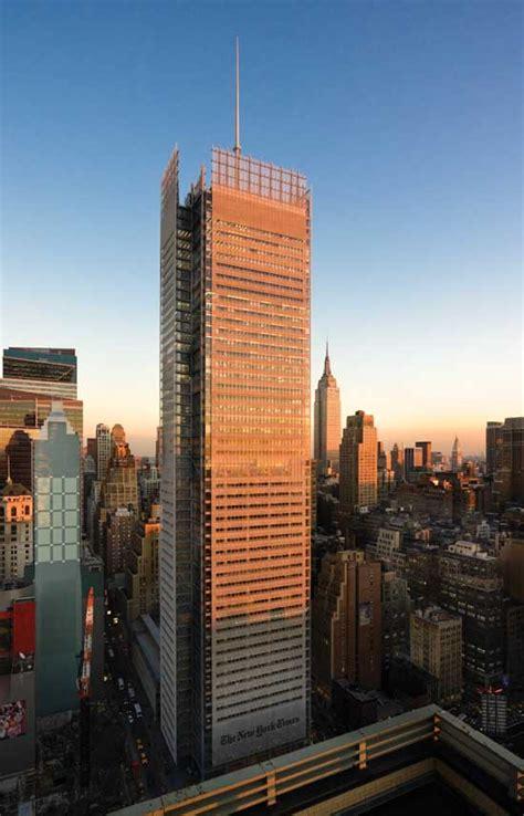 york times headquarters building  architect