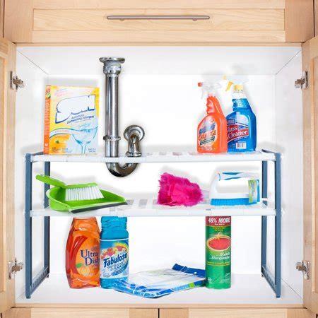 the sink shelf walmart stalwart adjustable sink shelf organizer unit