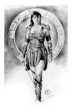 Printable coloring pages - Xena (Superheroes