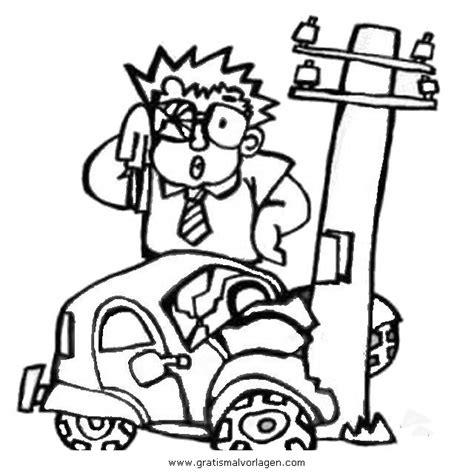 unfall  gratis malvorlage  autos transportmittel