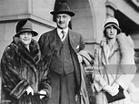 A.P. Giannini, wizard of finance, and his wife and ...