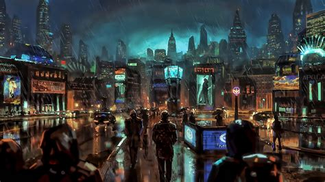 wallpaper  px city science fiction