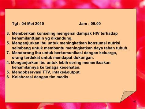 Janin Hilang Kehamilan Dengan Hiv Aids Ppt