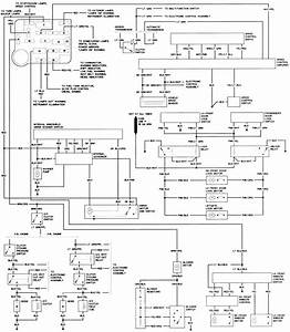 Service Manual  Electrical Relays Schematic 1987 Ford