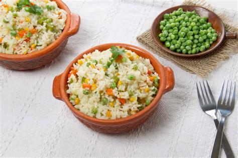 Receta de Arroz con verduras típico peruano - Picanterias