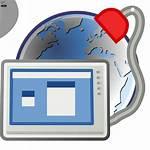 Desktop Remote Preferences Icon Clip Clipart Svg