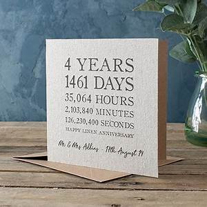 Personalised Wedding Anniversary Cards From £1.49 ...
