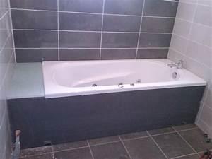 Habillage De Baignoire : habillage de baignoire a carreler ~ Premium-room.com Idées de Décoration