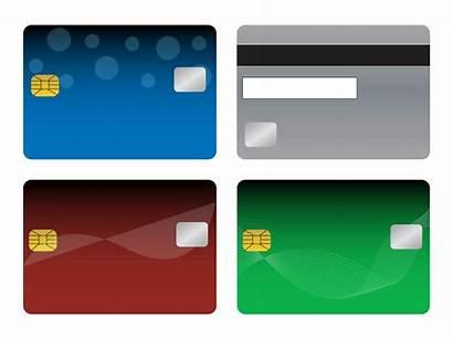Cards Bank Templates Credit Blank Debit Freevector