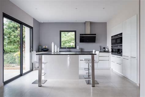 cuisine moderne avec ilot central cuisine moderne avec ilot pour 2017 avec cuisine