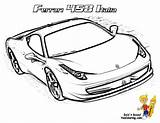 Ferrari Coloring Pages Cars 458 Italia Boys Race Pounding Heart Yescoloring Rac Library Clipart Popular Testarossa sketch template