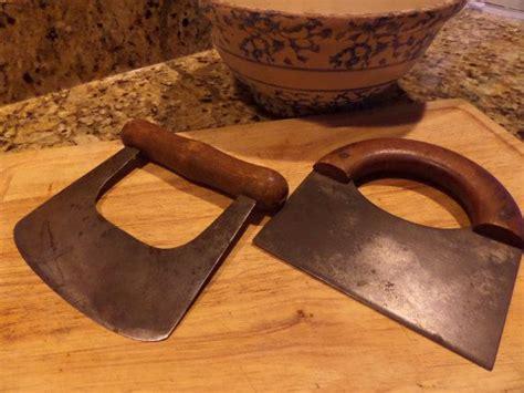 antique food chopper primitive meat chopper primitive knife antique cutting board butcher block