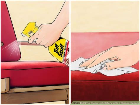 Steam Cleaning Furniture Upholstery by How To Clean Upholstery With A Steam Cleaner 11 Steps