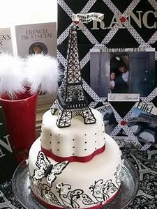 Eiffel, Towers, Birthday, Cake, Designs