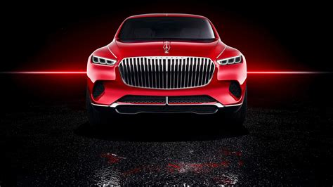 Vision Mercedes Maybach Ultimate Luxury 4k Wallpapers