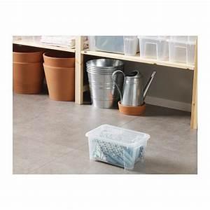 Samla Box Ikea : box samla transparent wish list 2018 ikea ikea boxes box with lid ~ Watch28wear.com Haus und Dekorationen