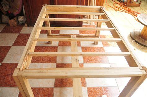 table de cuisine en palette table white créations et meubles en bois de
