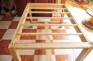 Pouf En Bois : table ana white cr ations et meubles en bois de palettes recycl es ~ Teatrodelosmanantiales.com Idées de Décoration