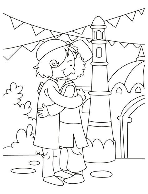 eid coloring page coloring pages coloring pages  kids islamic kids activities