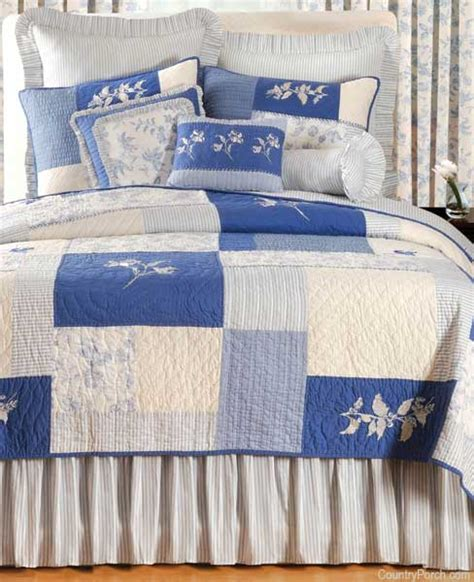 brighton toile country quilt bed mattress sale