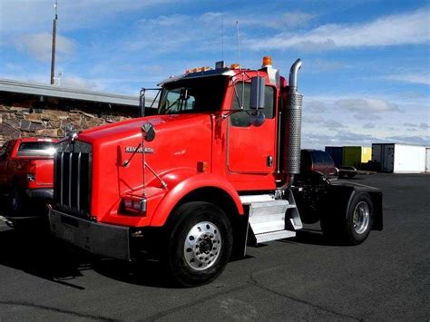 kenworth truck cab 2007 kenworth t800 day cab truck for sale 381 314 miles