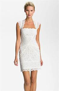 lace little white wedding dresses for the wedding With little white dress wedding
