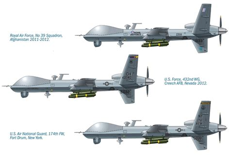 General Atomics MQ-9 Reaper (UCAV) Italeri 1320