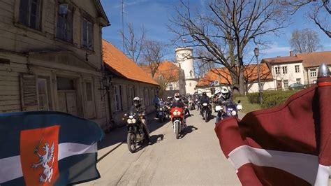 Moto sezonas atklāšana 2017, Cēsis - YouTube