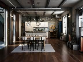 Modern Industrial Interior Design Ideas