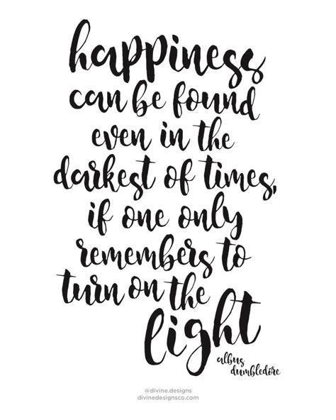 Free Printable Dumbledore Quotes