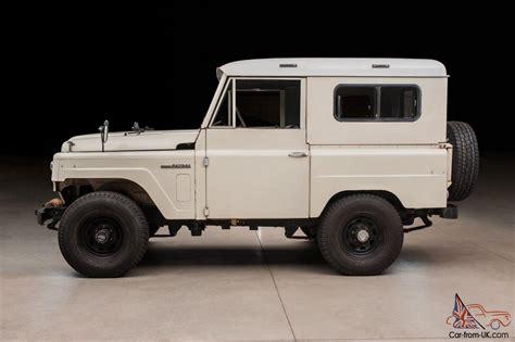 nissan patrol classic 1966 nissan patrol hardtop 100 rust free original