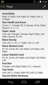 Cheats for GTA 5 (PS4 / Xbox) for Android - APK Download