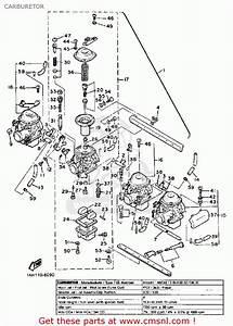 Yamaha Xj700 Maxim 1986  G  Usa Carburetor