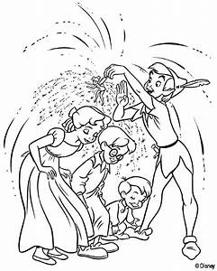 Coloring Page Peter Pan Tinkerbell Trilly