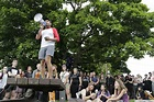 Hundreds Protest Police Shooting of Two Unarmed Black Men ...