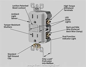 Wiring Gfci Outlet Diagram Practical Awesome  To Wire A