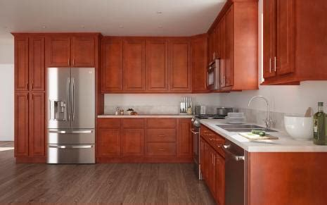 stock kitchen cabinets cherry retreat ready to assemble kitchen cabinets 2520
