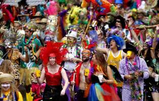 Halloween Parade New York Route by New Orleans Celebrates Mardi Gras Framework Photos And