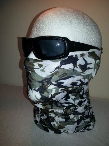 Camo Tactical Tube Snow Winter Woodland Digital Camouflage