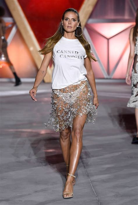 Heidi Klum Fashion For Relief Cannes Film Festival