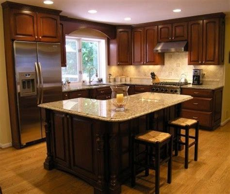 12x12 Kitchen Design Ideas  Love The Layout And Lshaped