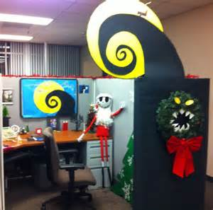nightmare before christmas office cubical decor jack