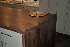 Kitchen Island Legs Metal Premium Wide Plank Waterfall Style Custom