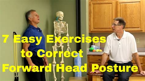 7 Easy Exercises to Correct Head Forward Posture - YouTube