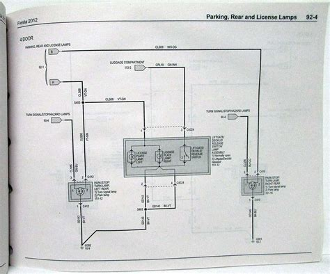 2012 ford electrical wiring diagrams manual