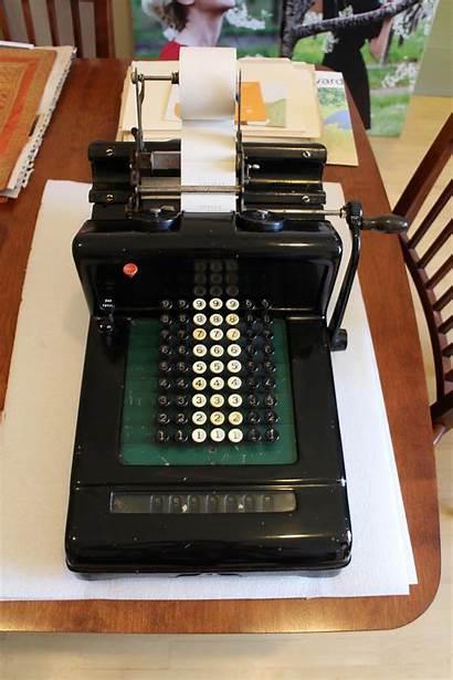 Adding Machine Donation Burroughs Machines William Seward