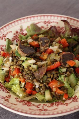 cuisiner des gesiers les 25 meilleures idées concernant salade gesiers sur